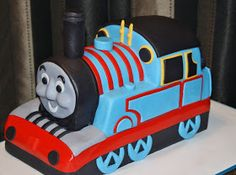 Sandy's Cakes: Coen's Thomas the Tank