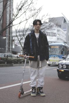 [Street Style] 岩井 拳士郎 | Harajuku (Tokyo)