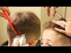 Most Popular Layers to Fade Haircut 2019 How to Cut Boy S Hair Taper Fade Haircut with No Boys Fade Haircut, Quiff Haircut, Taper Fade Haircut, How To Fade Haircut, Toddler Boy Haircuts, Haircuts For Men, Boy Haircuts Long, Little Boy Hairstyles, Cool Hairstyles