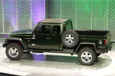2015 Jeeps | Jeep Gladiator Concept 2015= Un Jeep Wrangler pick-up.