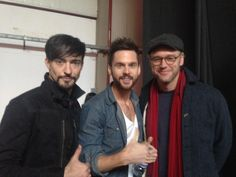 Backstage at the #portugalcomiccon panel with @thisisTomRiley @LostWaxProcess and Blake Ritson from @DaVincis_Starz