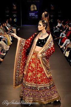 Ritu Kumar bridal lehenga