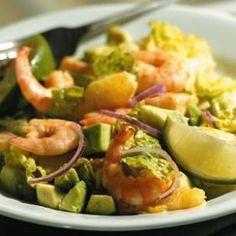 EatingWell.com/*** Margarita Shrimp Salad