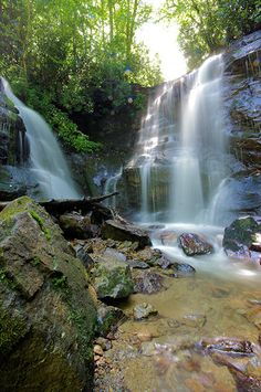Soco Falls...between Maggie Valley and Cherokee NC