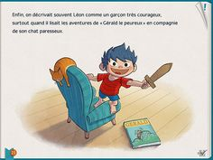 SwpTales Léon ! Superbe application de lecture interactive !