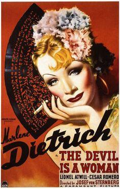 Marlene Dietrich~'The Devil is a Woman', 1935...