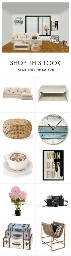 """""""Untitled #267"""" by camila1970 ❤ liked on Polyvore featuring interior, interiors, interior design, home, home decor, interior decorating, Oliver Gal Artist Co. and National Tree Company"""