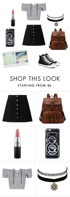 """""""Untitled #83"""" by brianna-miller-bts-army ❤ liked on Polyvore featuring Miss Selfridge, MAC Cosmetics, Casetify, Topshop, Charlotte Russe and Converse"""
