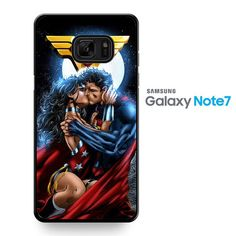 Superman And Wonder Woman Romantic Kiss TATUM-10286 Samsung Phonecase Cover For Samsung Galaxy Note 7