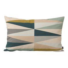 """ferm LIVING Spear Organic Cotton Lumbar Pillow Size: 15.75"""" H x 23.62"""" W"""