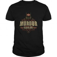 Awesome Tee Mordor Dark Ale   Lord of the Rings T-Shirts