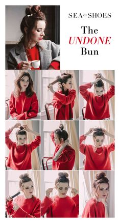 How To: The Messy Undone Bun