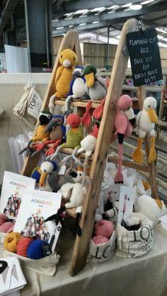 Toft alpaca Edwards Menagerie - crochet birds