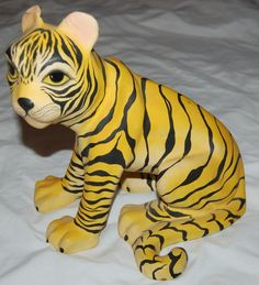 paper mache tiger instructions