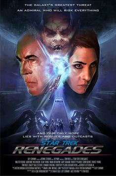Here's the first episode for the new Star Trek: Renegades series in full. Star Trek Renegades is an independent fan funded Internet television Series, produced by Sky Conway - with a kickstarter now under way All Movies, Movies Online, Corin Nemec, Science Fiction Tv Shows, Robert Picardo, Edward Furlong, Starfleet Academy, Sean Young, Star Trek Tv