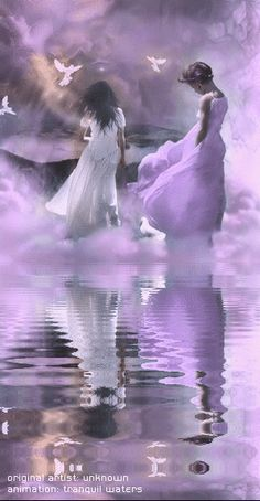Water Animations -** Oceans to Angels** - Image 19 - Tranquil Waters - Fantasy Art