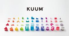 KUUM is a collection of wooden toy blocks with 12 stories on the various elements of nature, stimulating both logical and emotional creativity in children of all ages.