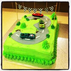 about birthday party ideas for Alva on Pinterest  Race Car Birthday ...