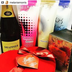 #Repost @melaniemorris we hope you enjoyed your chocolates   Heart... Soul and hair!!thank you @redkenuk @decleoruk for dropping this heavenly love bomb on to my desk this afternoon. #champagne #chocolate #purveyorsofjoy #redken #allsoft #hairhero #decleor #candle #valentine #jointhetribe #nomnomnom