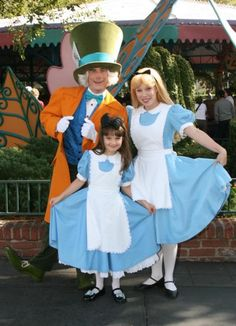 This woman makes reproductions of the disney costumes...down to the last detail.  This Alice in wonderland costume is not to be beat!