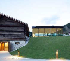 Centro di cultura Tubl da Nives, Selva di Val Gardena, 2011 - Architekt Rudolf Perathoner