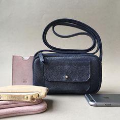 Nouvelle peau / Nouveau format Nano sac aster paillettes #ateliersaintloup