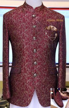 Indian Wedding Suits Men, Mens Indian Wear, Indian Groom Wear, Wedding Dress Men, Indian Men Fashion, Mens Fashion Suits, Wedding Attire, Men's Fashion, Blazer Outfits Men