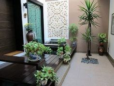 Simple Inner Courtyard Decorating Ideas Inspirations modern ...
