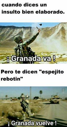 Pto espejito rebotín :c Para más imágenes graciosas y memes en Español descarga a App https://www.huevadas.net/app o visita: https://www.Huevadas.net #momos #memes #humor #chistes #viral #amor #huevadasnet