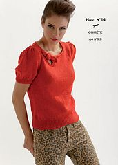 Ravelry: CB18 Top n°14 pattern by Cheval Blanc Official