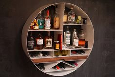 You might not be ready for a full bar at home but are in need of a spot dedicated to whipping up a cocktail and showcase your collection. Libation Station gives you just that, designed to both store your bottles...