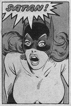 vintage comic page satan Pop Art Vintage, Vintage Comic Books, Vintage Comics, Retro Art, Comic Books Art, Comic Art, Horror Comics, Bd Comics, Comics Girls