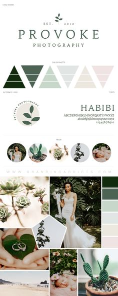 Introducing a brand that provokes the senses. This branding suite was blissfully crafted with nature as our inspiration. With fresh and organic greens, light grey, tan, and blush pink, this natural and classic brand is the perfect compliment for a moody, yet organic edit style. Professional Business Branding and marketing by Designer Laine Napoli. Web Design, Logo, Mood Board, Brand Boards, and more.