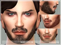 Sims 4 CC's - The Best: Beard Style by Serpentrogue
