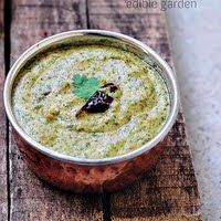 Peanut Mint Chutney Recipe - Peanut Chutney with Mint for Rice, Idli