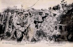Portuguese soldiers of the CEP, 1917-1918