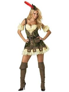 Elite Racy Robin Hood Adult Costume | Wholesale Fairytale Halloween Costume Sexy