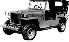 Toyota Land Cruiser BJ de 1951... Conserva su forma, pero hoy lo podemos encontrar en más que blanco y negro.