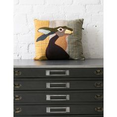 Rose and grey cushions each There is also a pheasant and squirrel version Cushions To Make, Large Cushions, Grey Cushions, Wool Pillows, Throw Pillows, Country Cushions, Applique Cushions, Animal Cushions, Luxury Cushions
