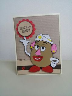 Cricut Toy Story, Mrs. Potato Head