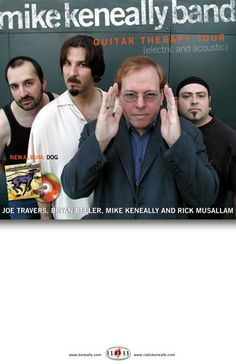 """Mike Keneally Band """"Guitar Therapy Tour"""" Promo"""