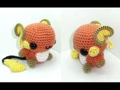 Raichu Amigurumi Crochet Tutorial Part 1 - YouTube