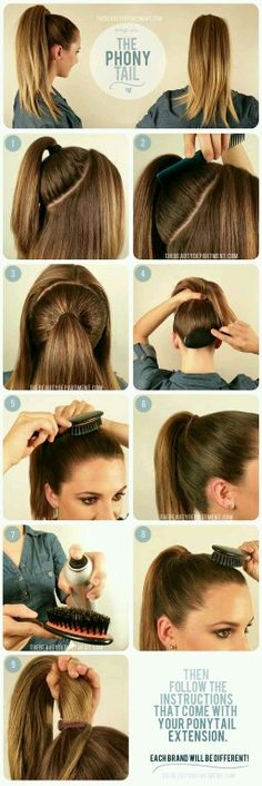 Get Ariana Grande-level ponytail fullness with a ponytail extension. - Get Ariana Grande-level ponytail fullness with a ponytail extension. Get Ariana Grande-level ponytail fullness with a ponytail extension. Pretty Hairstyles, Easy Hairstyles, Wedding Hairstyles, Volume Hairstyles, Summer Hairstyles, Teenage Hairstyles, Fashion Hairstyles, Casual Hairstyles, Professional Hairstyles