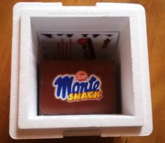 Mama bloguje-mama testuje...: Projekt Monte Snack Birthday Candles, Snacks, Projects, Appetizers, Treats