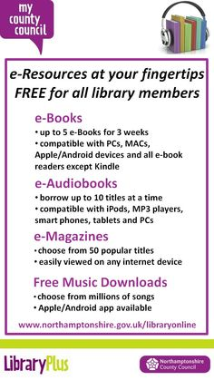 All FREE to our library members!