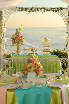 Easter brunch by the sea
