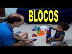 BRINCANDO DE BLOCOS DE MONTAR   ATIVIDADES PARA CRIANÇAS EDUCATIVAS   CR...