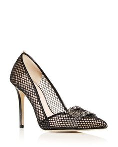134b80c2a57f SJP by Sarah Jessica Parker - Black Women's Windsor Pointed Toe Pumps -  Lyst Hot Shoes