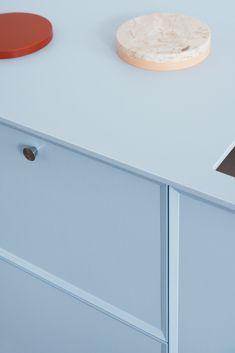 Note Design Studio's kitchen design FRAME in blue for Reform. It's an IKEA hack. Note Design Studio, Notes Design, Design Blog, Design Design, Ikea Kitchen, Home Decor Kitchen, Kitchen Interior, Kitchen Cabinets, Kitchen Ideas