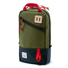 Topo Designs Trip Pack ($89): great little day bag for short trips, carry-on, etc.